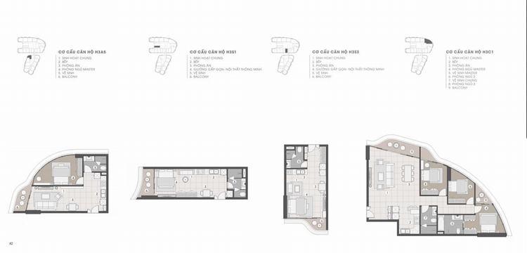 Thiết kế căn hộ The Aston Luxury Residence Nha Trang