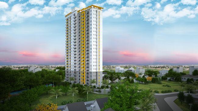 Phối cảnh dự án căn hộ Bcons Bee Bình Dương